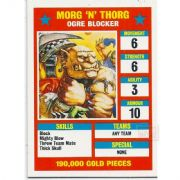 Blood Bowl Morg N Thorg Ogre Blocker Star Player Reference Card